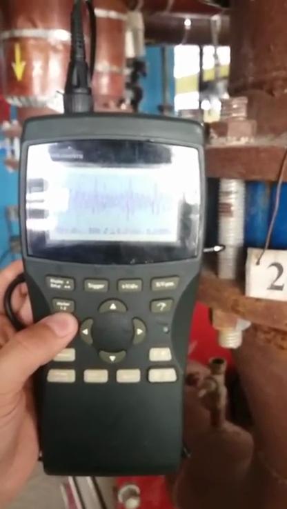 Измеряем сигнал на трубах и теплообменниках районной котельной