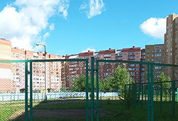 Фото многоквартирного дома, где установлено ФПНУ WS