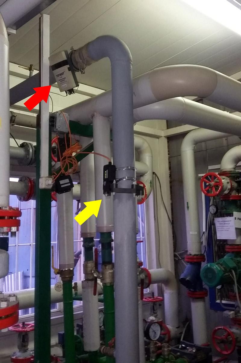 ФПНУ WS и преобразователь жёсткости воды в котельной №6