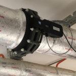 Противонакипное устройство WS-282 (Ду250) установлено для защиты от накипи прецизионных кондиционеров в ЦОД