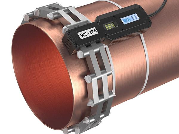 Прибор от накипи - WS-384 (Ду350, DN373) установлено на трубе