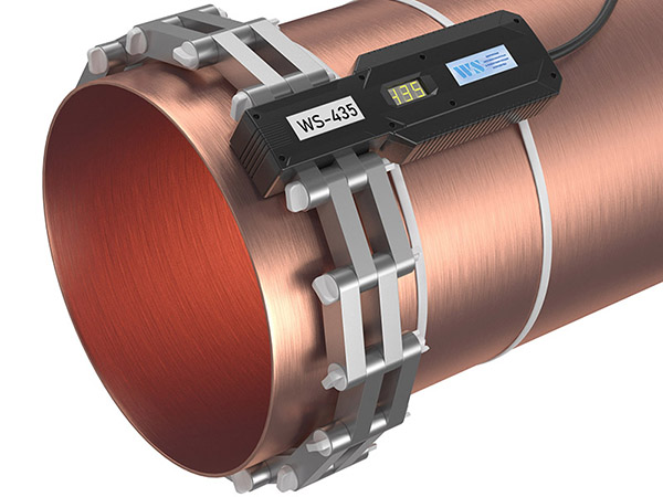 Прибор от накипи - WS-435 (Ду400, DN426) установлено на трубе