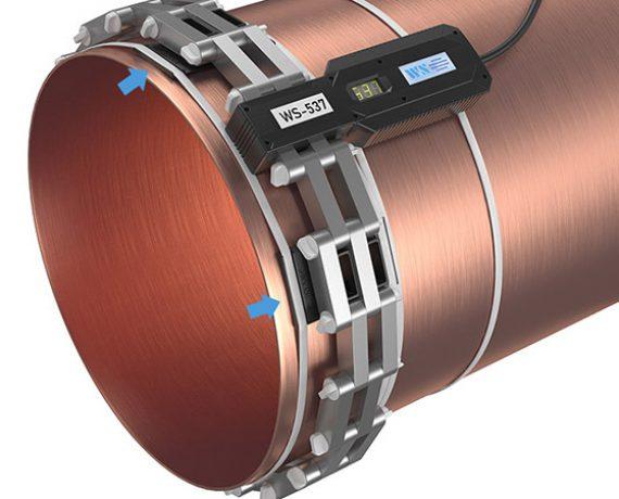 Прибор от накипи - WS-537 (Ду500, DN530) установлено на трубе
