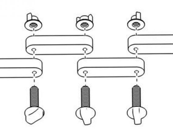 Схема монтажа WS-25, рис. 3. Собираем кольцо из ферритов.