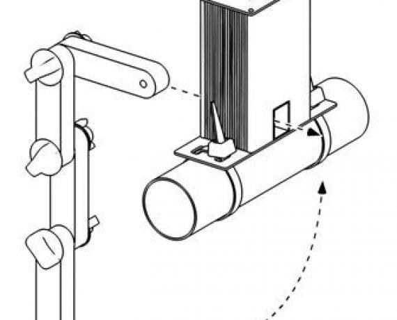 Схема монтажа WS-25, рис. 4. Вставляем кольцо в прибор.