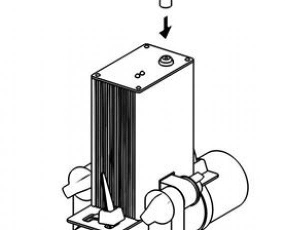 Схема монтажа WS-25, рис. 6. Включаем разъем.
