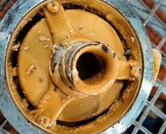 Накипь на арматуре трубопроводов перекачки противогололёдного реагента 2